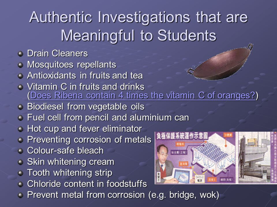 Authentic Investigations that are Meaningful to Students