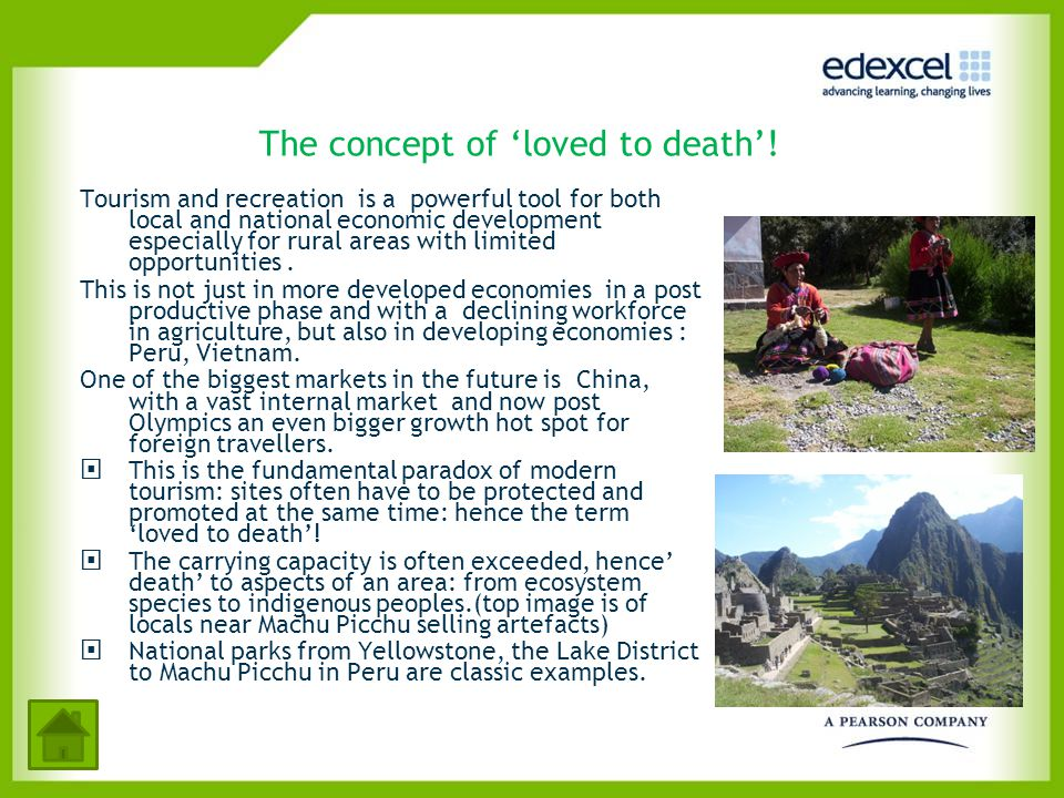 The concept of 'loved to death'!