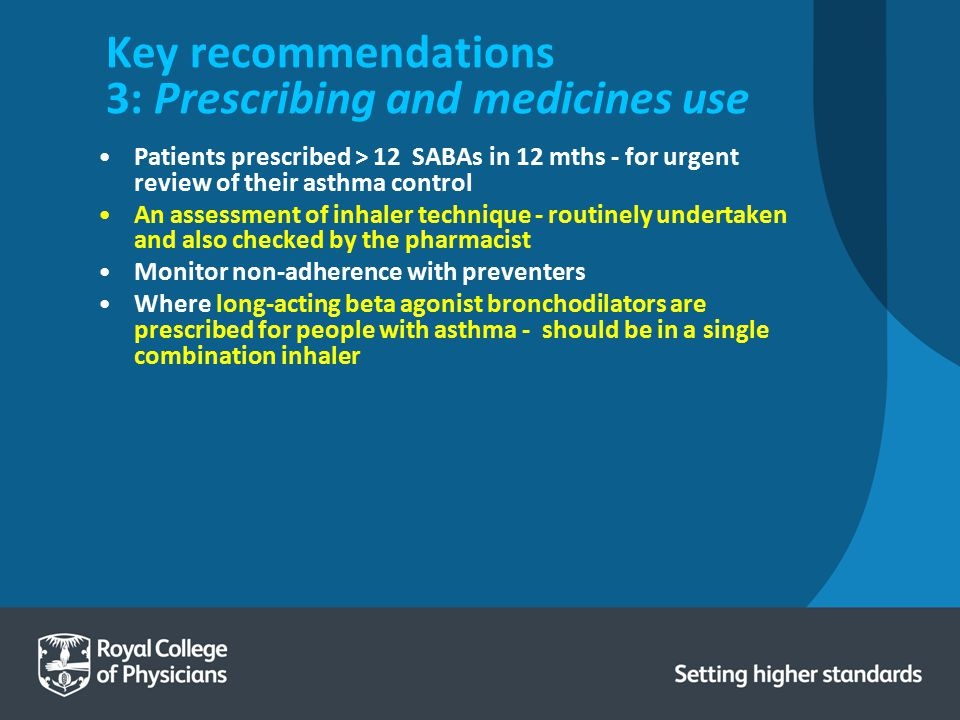 Key recommendations 3: Prescribing and medicines use