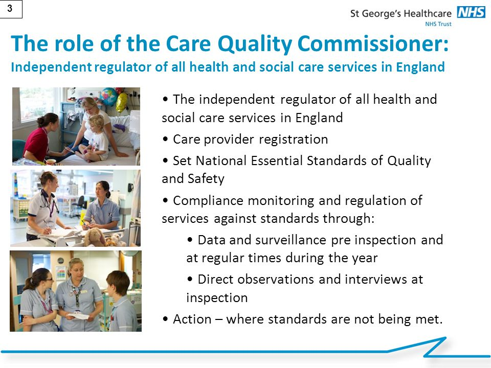 The role of the Care Quality Commissioner: