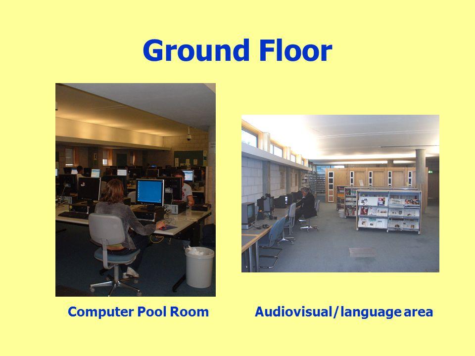 Ground Floor Computer Pool Room Audiovisual/language area