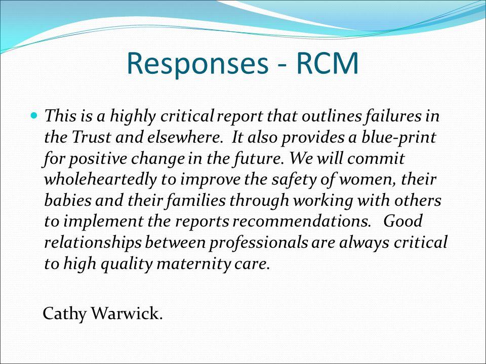 Responses - RCM