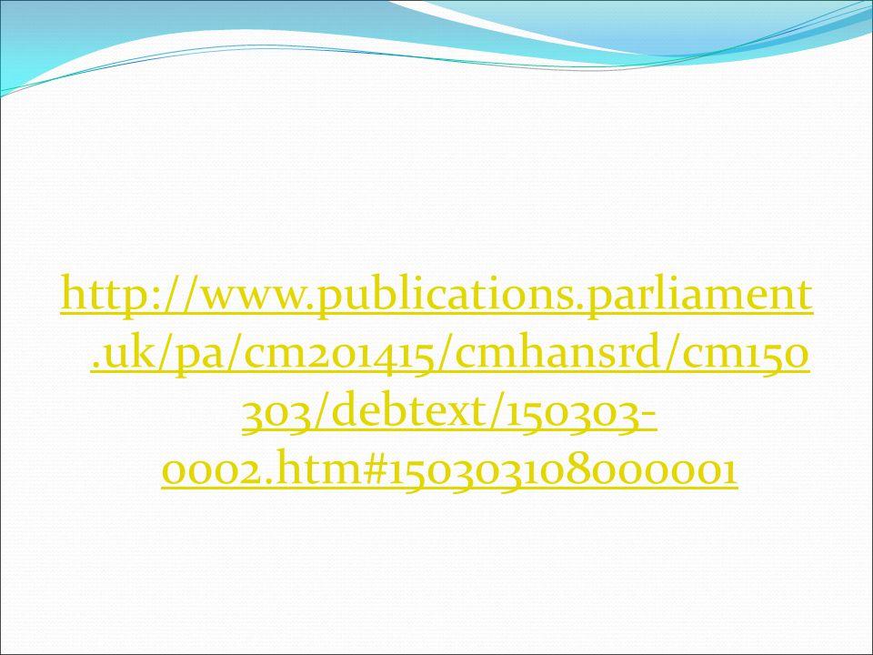http://www. publications. parliament