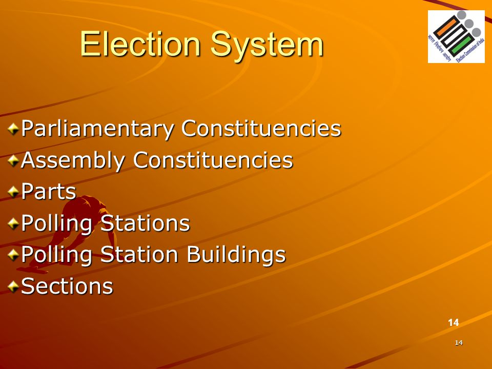 Election System Parliamentary Constituencies Assembly Constituencies