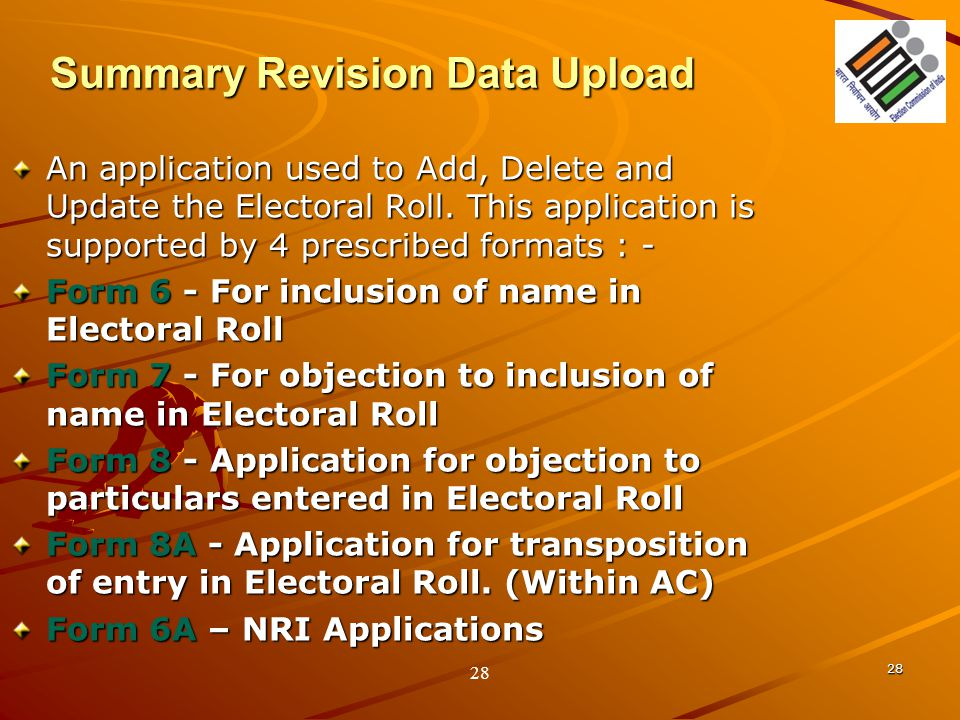 Summary Revision Data Upload