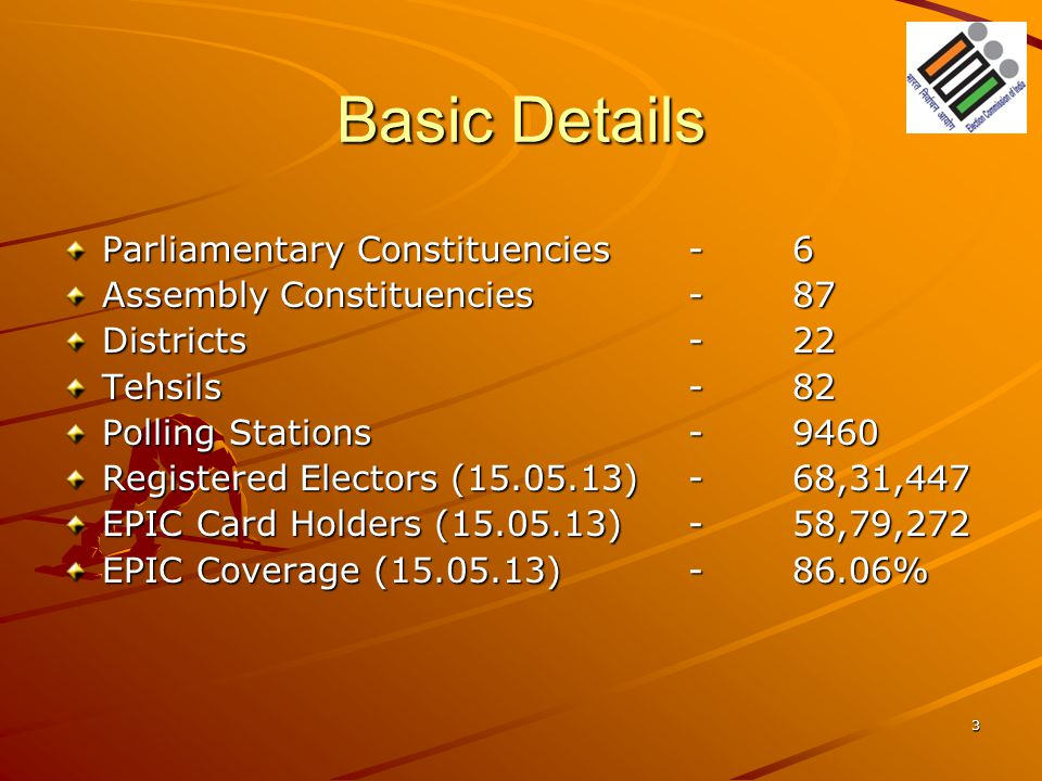 Basic Details Parliamentary Constituencies - 6