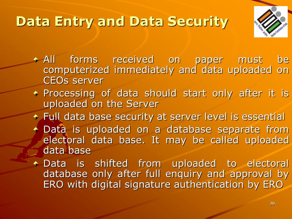 Data Entry and Data Security