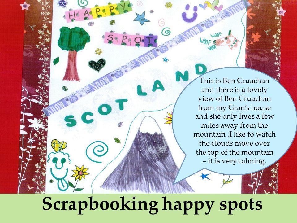 Scrapbooking happy spots