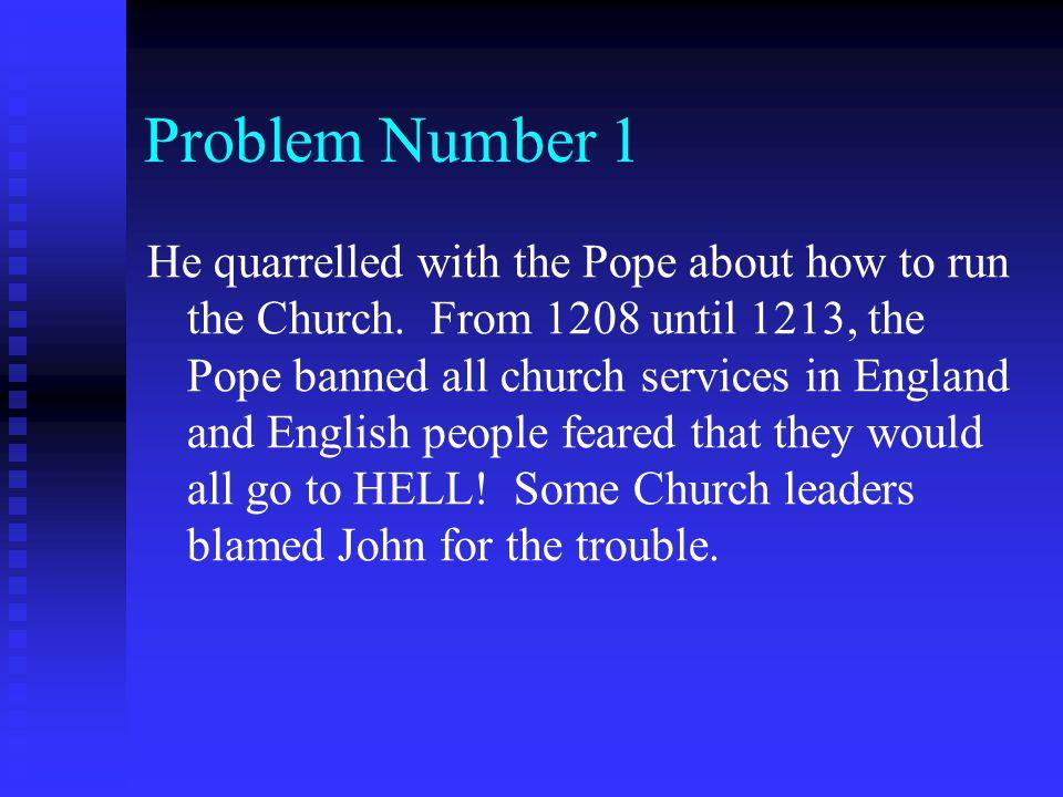 Problem Number 1