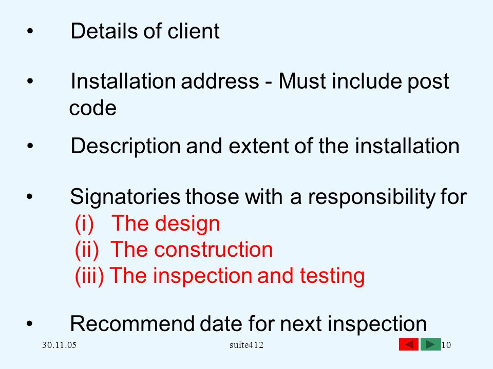 Installation address - Must include post code