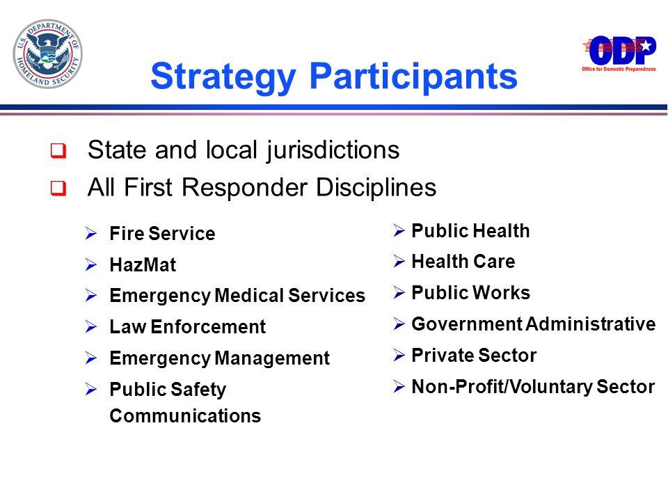 Strategy Participants