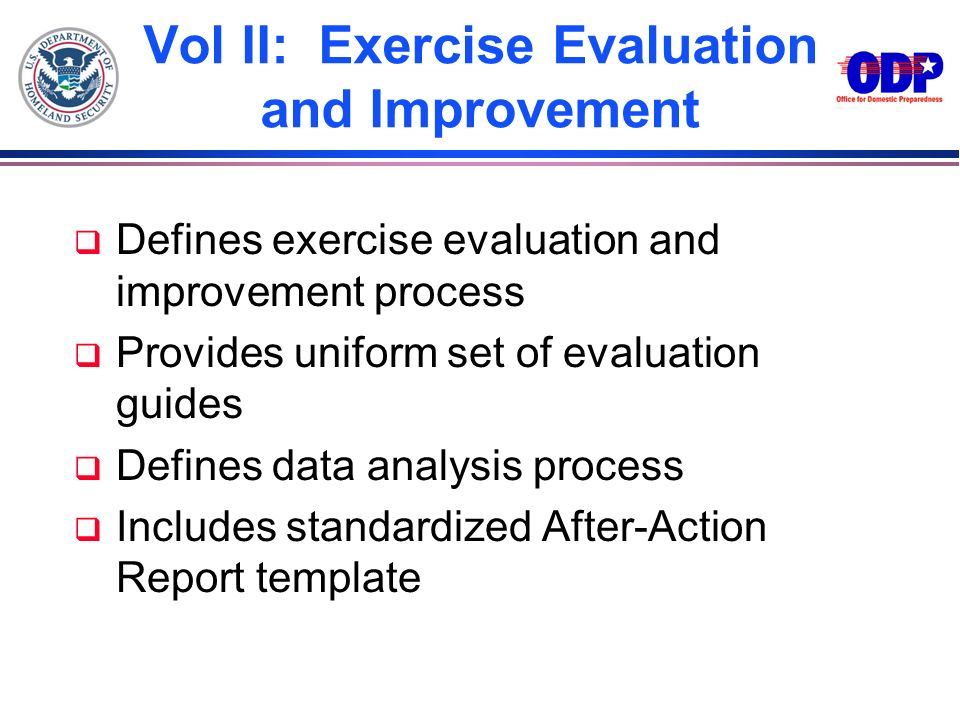 Vol II: Exercise Evaluation and Improvement