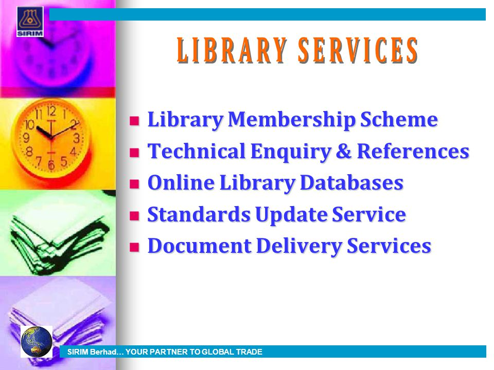 LIBRARY SERVICES Library Membership Scheme