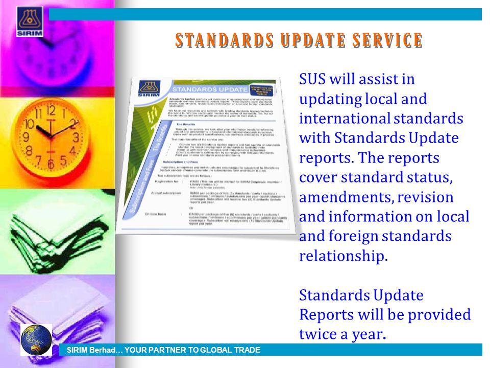 STANDARDS UPDATE SERVICE
