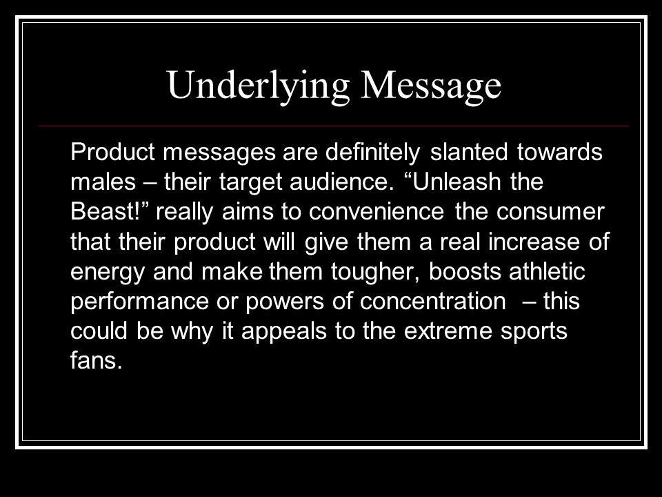 Underlying Message