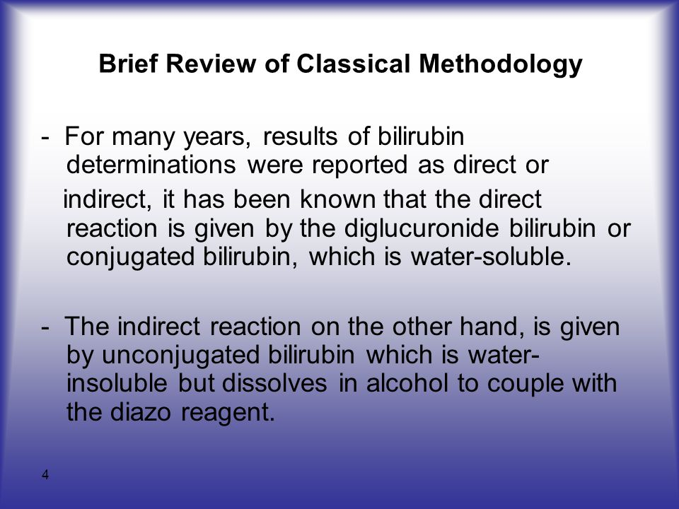Brief Review of Classical Methodology