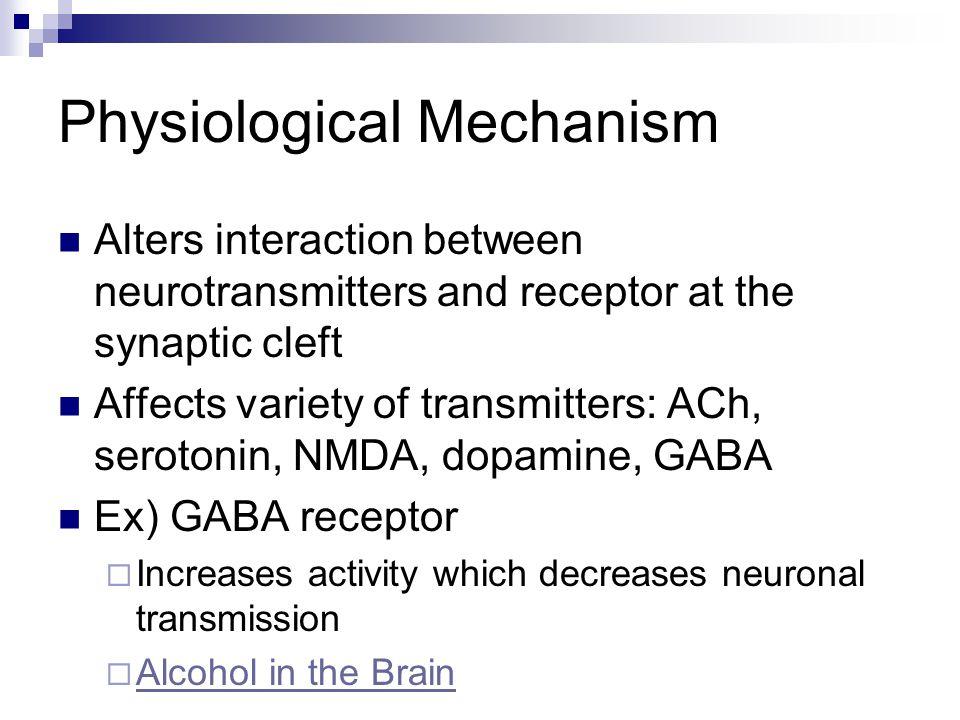 Physiological Mechanism