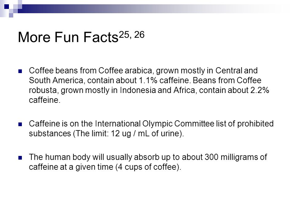 More Fun Facts25, 26