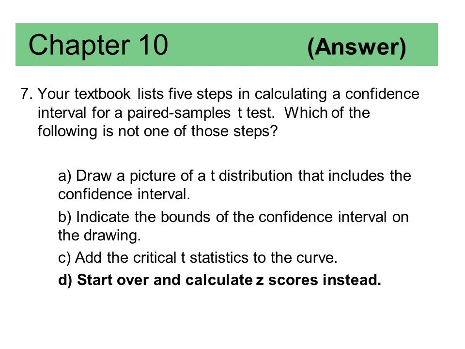 Chapter 10 (Answer)