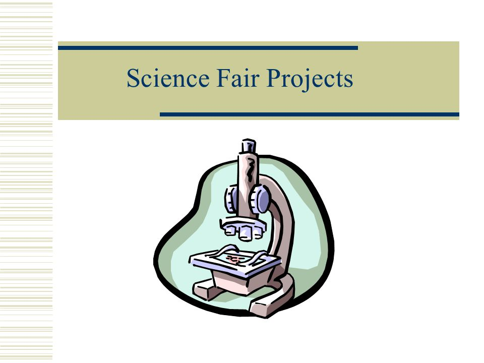 science fair project powerpoint