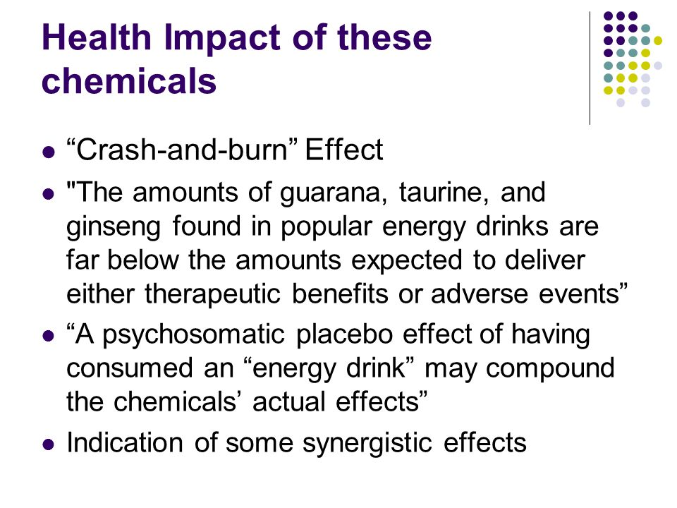 Health Impact of these chemicals