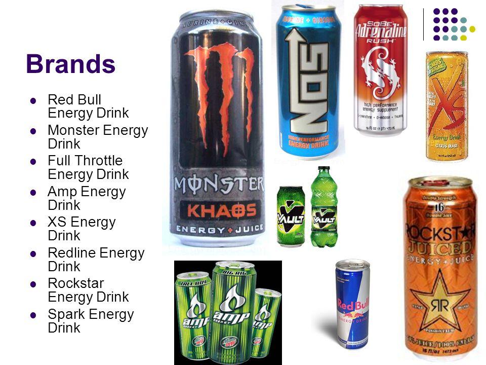 Brands Red Bull Energy Drink Monster Energy Drink