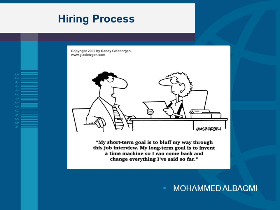 Hiring Process MOHAMMED ALBAQMI