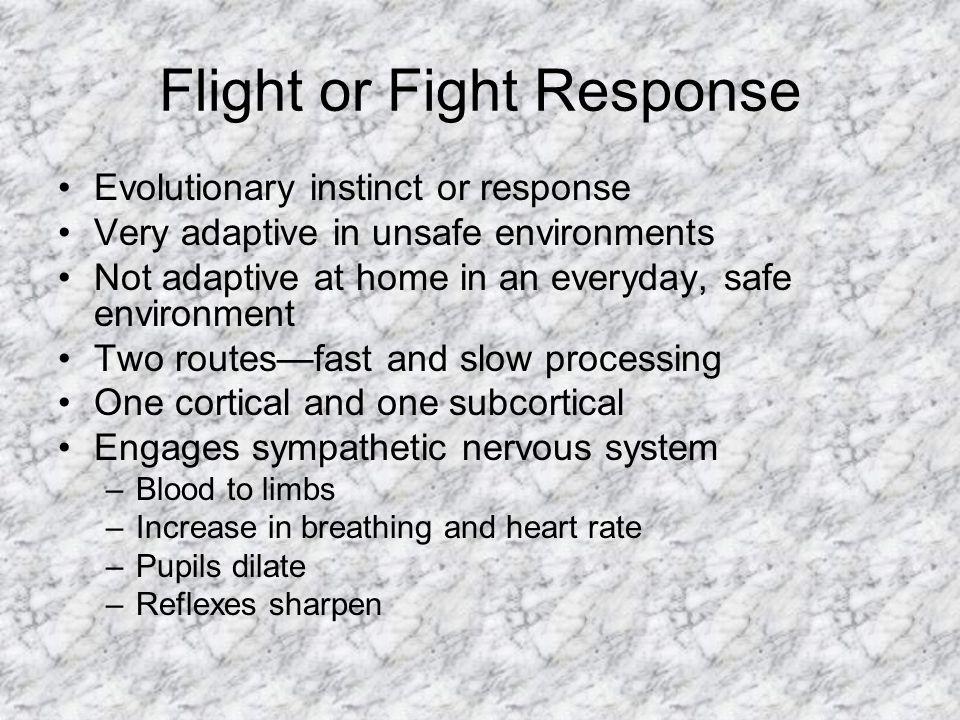 Flight or Fight Response