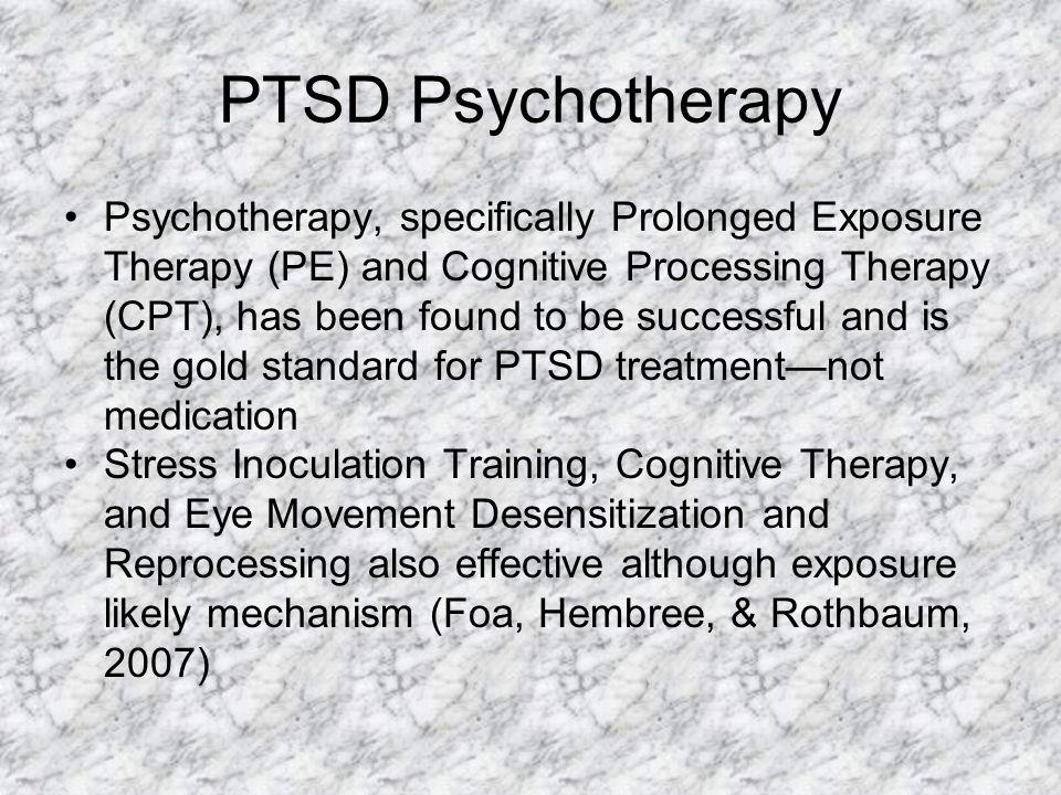 PTSD Psychotherapy