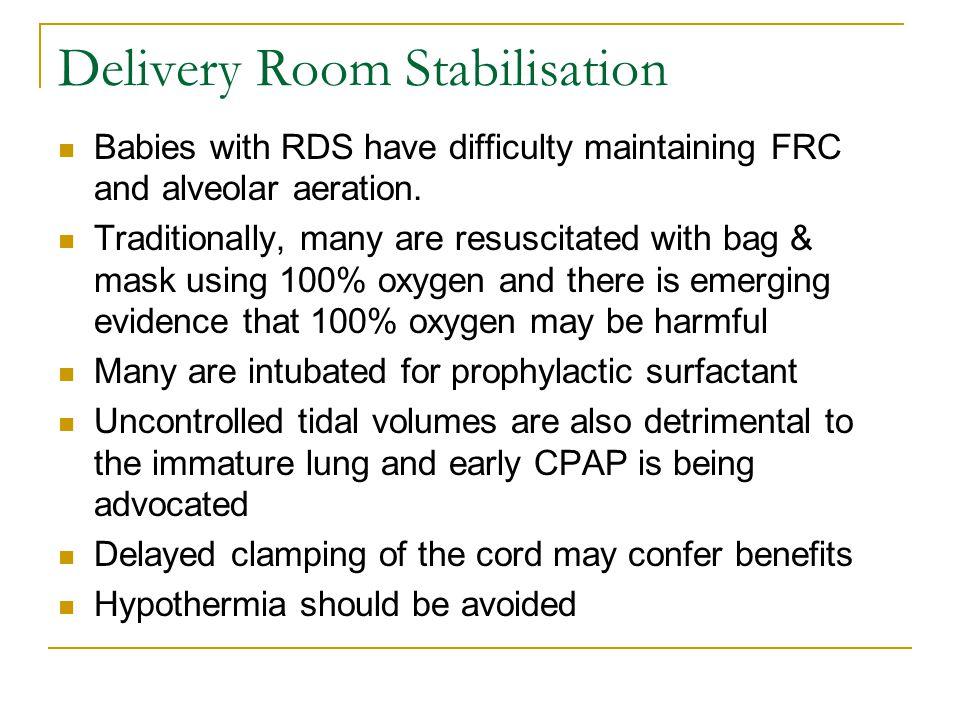 Delivery Room Stabilisation