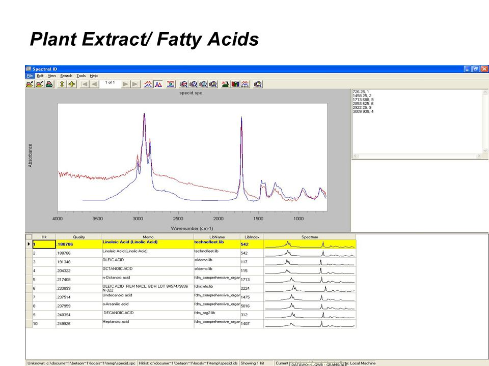 Plant Extract/ Fatty Acids