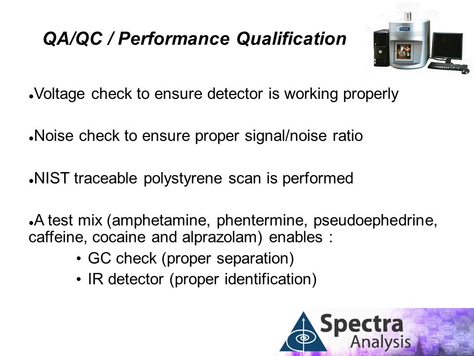 QA/QC / Performance Qualification
