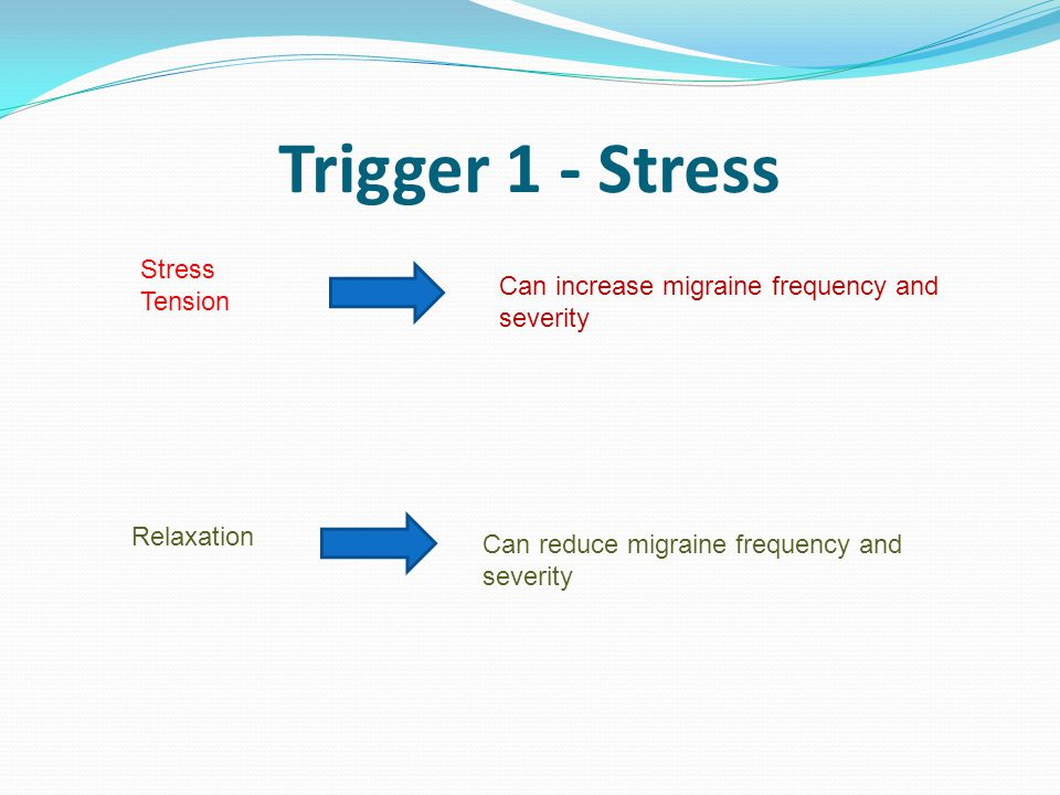 Trigger 1 - Stress Stress Tension