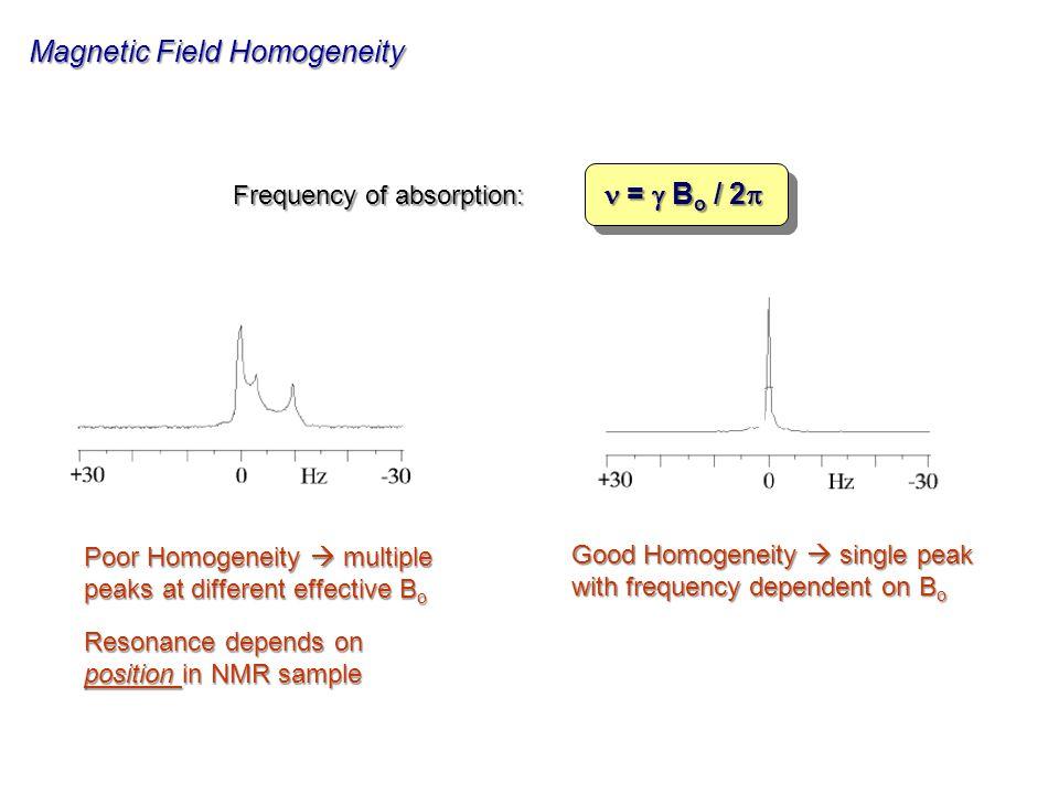 Magnetic Field Homogeneity