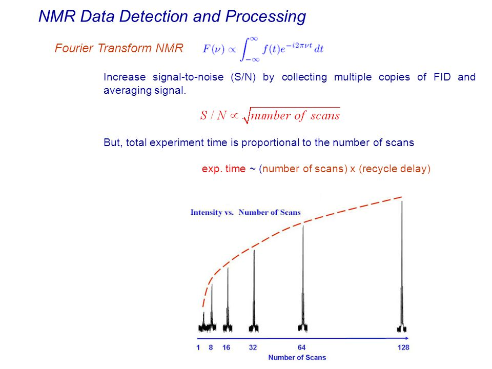 NMR Data Detection and Processing