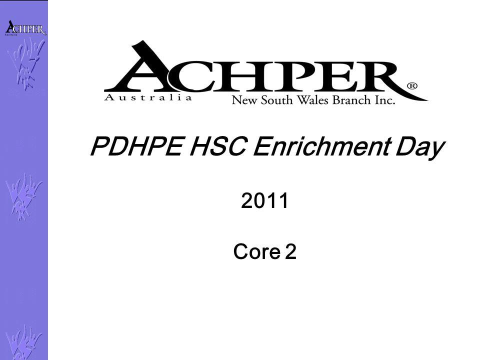 PDHPE HSC Enrichment Day