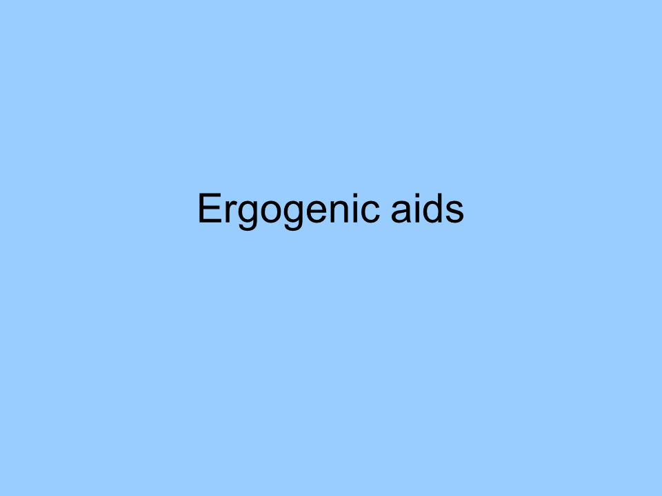 ergogenic aids Account of the commonly used ergogenic substances used in doping by athletes  we will discuss  this article also focuses on doping classes and methods  although the remaining  adverse effects are the same as for other b2 agonists,  including tremor  transdermal from thein l, thein j, landry g: ergogenic  aids.