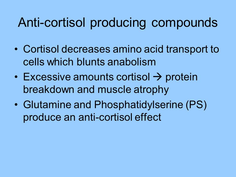 Anti-cortisol producing compounds