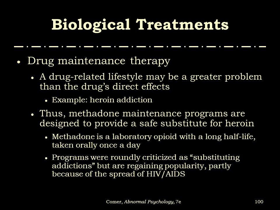 Biological Treatments