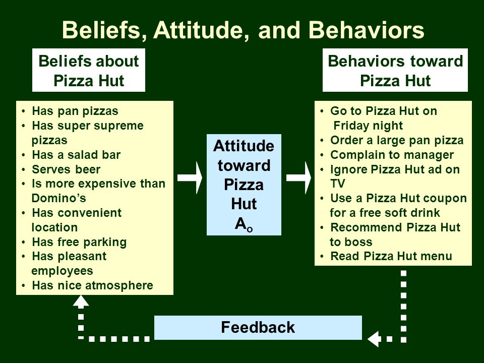 Beliefs, Attitude, and Behaviors