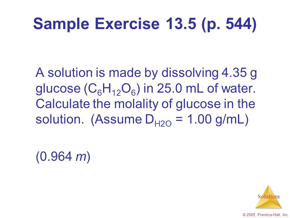 Sample Exercise 13.5 (p. 544)