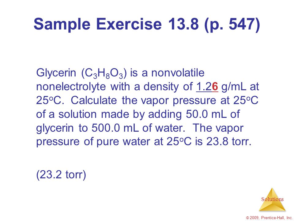 Sample Exercise 13.8 (p. 547)