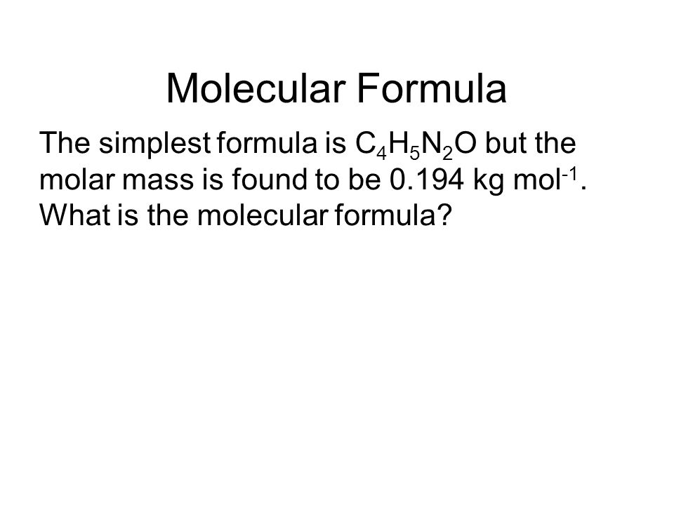 Molecular Formula The simplest formula is C4H5N2O but the