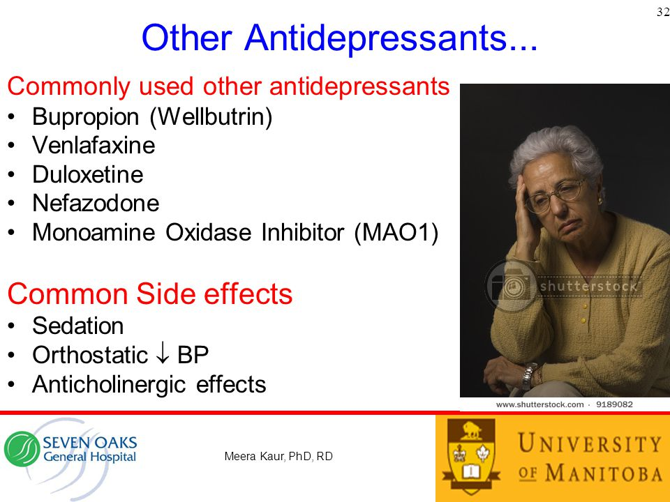 Other Antidepressants...