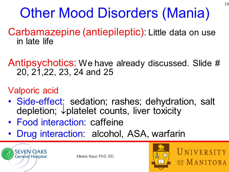 Other Mood Disorders (Mania)