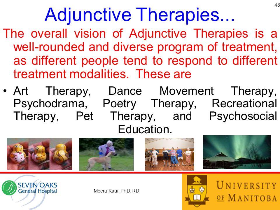 Adjunctive Therapies... 46.