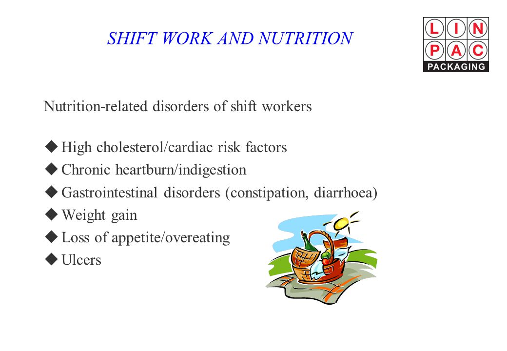 SHIFT WORK AND NUTRITION