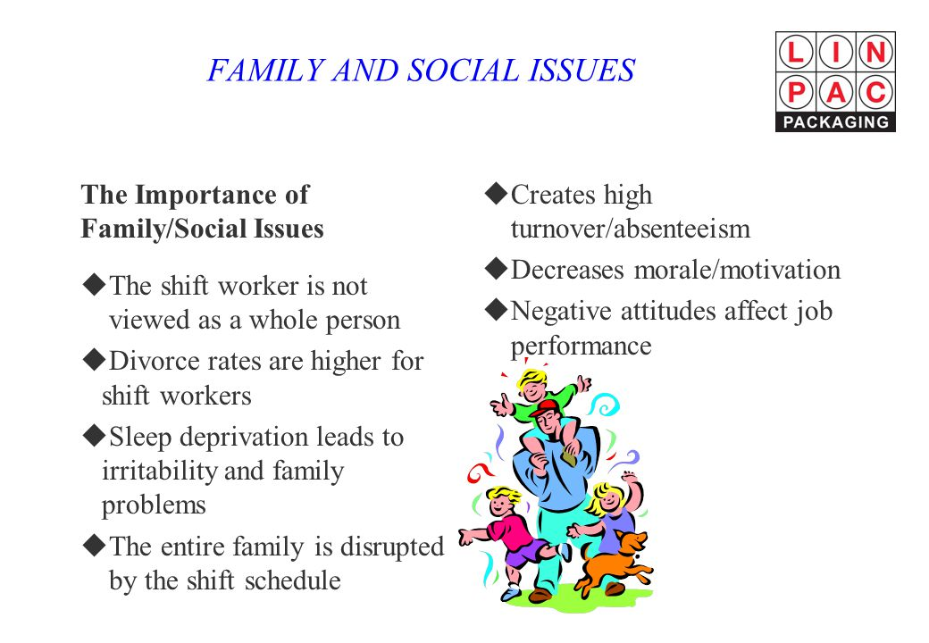 FAMILY AND SOCIAL ISSUES