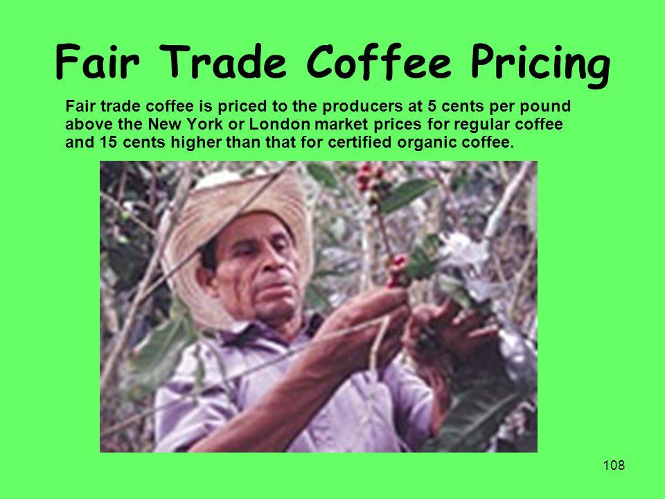 Fair Trade Coffee Pricing