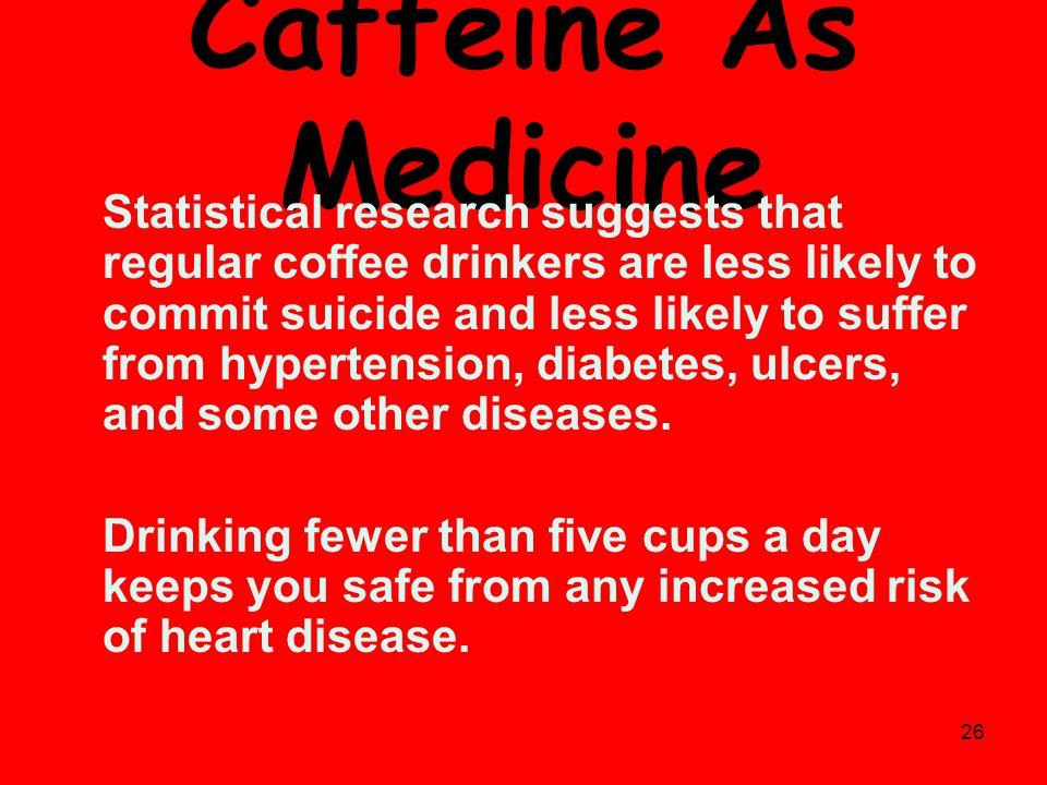Caffeine As Medicine